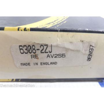 Belt Bearing NEW!!  730TQO940-1  RHP 6308-2ZJ BALL BEARINGS - 90MM X 40MM X 23MM