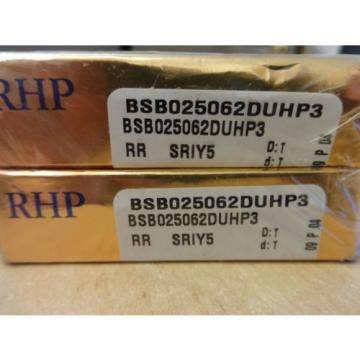 Industrial TRB RHP  595TQO845-1  HIGH PRECISION BEARING PAIR BALLSCREW SUPPORT BSB025062DUHP3