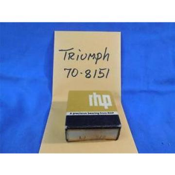 Roller Bearing TRIUMPH  LM287849D/LM287810/LM287810D  70-8151 NOS RHP Bearing  BSA GEARBOX MAINSHAFT BEARING  NP33