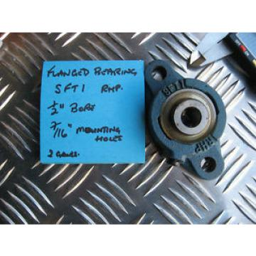 """Industrial Plain Bearing RHP  500TQO705-1  flanged bearing SFT1 , 1/2""""bore."""