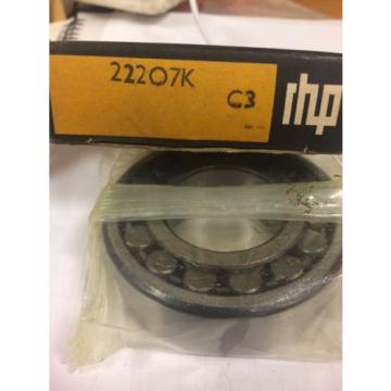 Tapered Roller Bearings RHP  508TQO762-1  22207K  C3 Spherical Bearing