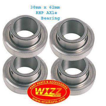Tapered Roller Bearings RHP  630TQO890-1  Set of 4  30mm x 62mm Axle Bearing FREE POSTAGE WIZZ KARTS