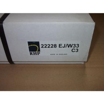 Inch Tapered Roller Bearing 22228  800TQO1280-1  EJ/W33C3 RHP Pendelrollenlager / Spherical roller bearing in OVP!