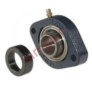 Belt Bearing RHP  635TQO900-2  LFTC20EC Two Bolt Oval Cast Iron Flange Housing Bearing 20mm Bore