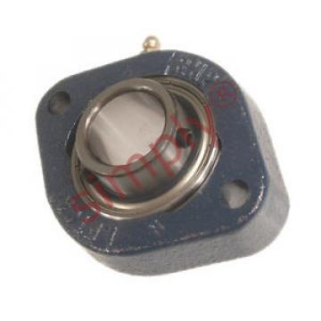Belt Bearing RHP  500TQO710-1  LFTC20 Two Bolt Oval Cast Iron Flange Housing Bearing 20mm Bore
