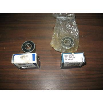 Roller Bearing Lot  850TQO1360-2  of 2 2201-2RSTN Bearings RHP and NSK