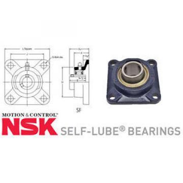 Belt Bearing RHP  530TQO780-2  SF self lube 4 hole square flange units c/w bearings