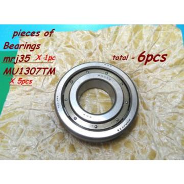 Tapered Roller Bearings Cylindrical  1250TQO1550-1  Roller Bearings 1pc of RHP, MRJ35 & 5 pieces of MU1307TM Federal M.