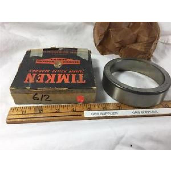TIMKEN 612 CUP FOR TAPERED ROLLER BEARING NEW OLD STOCK #1 image
