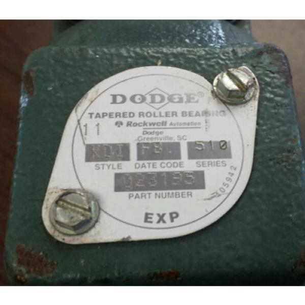 """*NEW*  Dodge  023195   Tapered Roller Pillow Block Bearing Unit   1-11/16"""" #2 image"""
