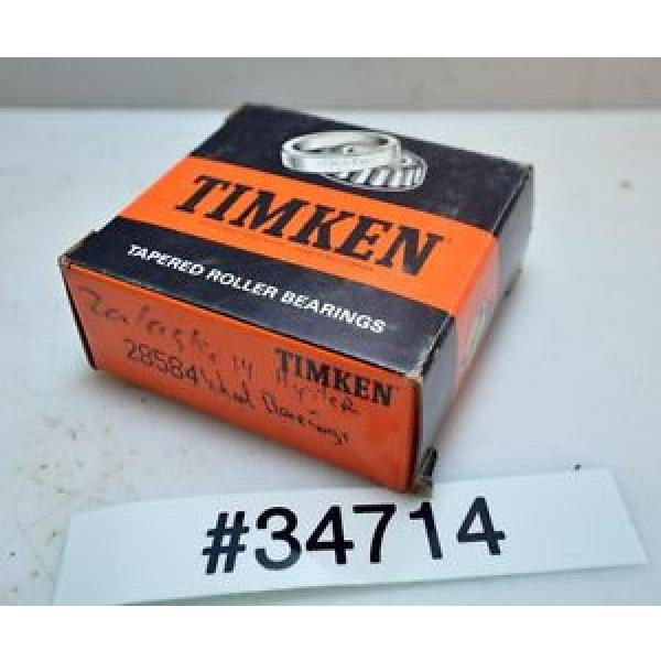 Timken Tapered Roller Bearing 28584 (Inv.34714)
