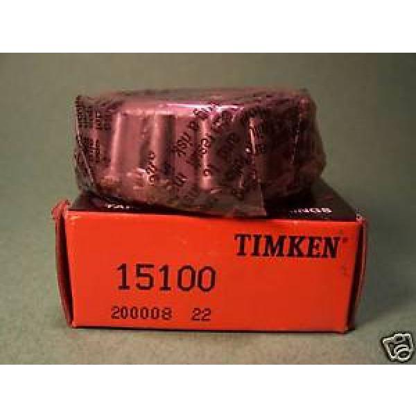 Timken 15100 Tapered Roller Bearing Cone