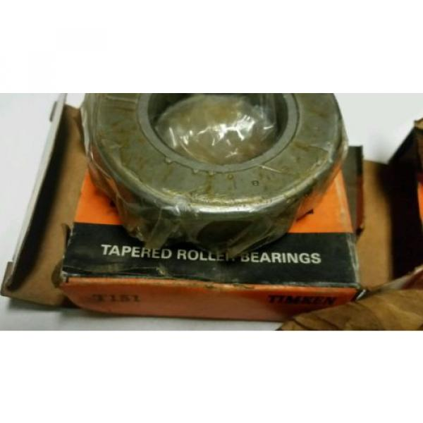 3-TIMKEN TAPERED ROLLER BEARINGS T151,1986,AND 1174