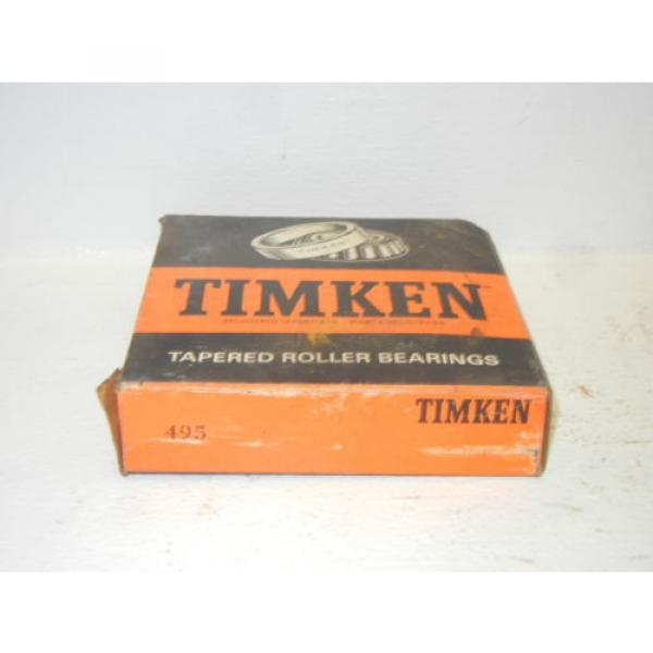 TIMKEN 495 NEW TAPERED ROLLER BEARING 495