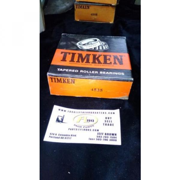 TIMKEN 4535 TAPERED ROLLER BEARING CUP