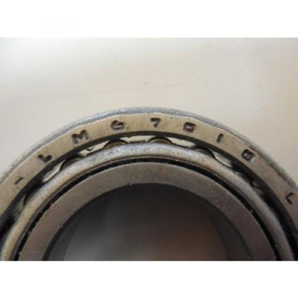 NEW NDH TAPERED ROLLER BEARING & OUTER RACE LM67010