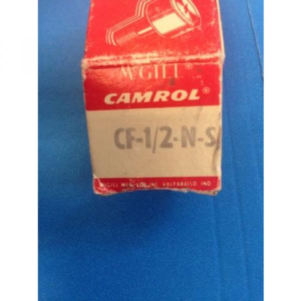 **MCGILL** CAM FOLLOWER (ROLLER BEARING) CF-1/2-N-S, FREE SHIPPING!!