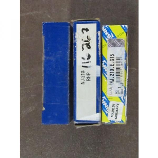 Roller Bearing NJ210  M282249D/M282210/M282210D  BEARING RHP NJ-210 & SNR NJ.210.E.G15 LOT OF 3