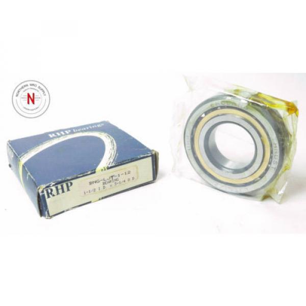 "Industrial Plain Bearing RHP  M280049D/M280010/M280010D  (NSK) LJT-1-1/2 ANGULAR CONTACT BEARING, 1.500"" x 3.250"" x .750"""