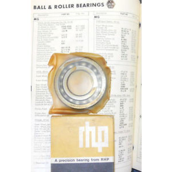 Industrial Plain Bearing NOS  670TQO1070-1  RHP Constant Mesh Pinion Bearing w/ clip LJ1-3/8NR, 6k885.  MGA & 62-65MGB-- #1 image