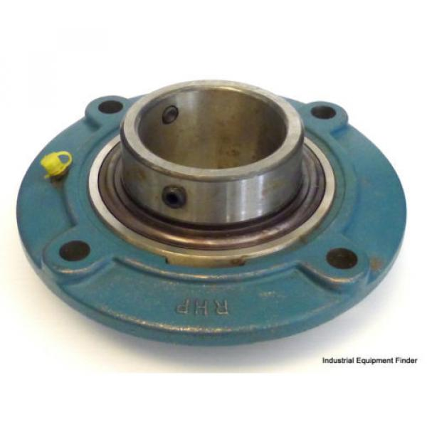 """Industrial Plain Bearing RHP  630TQO920-1  MFC7 4-Bolt Flange Bearing   7-1/2""""-OD 2-11/16""""-Bore 3-15/16""""-Length  *NEW*"""