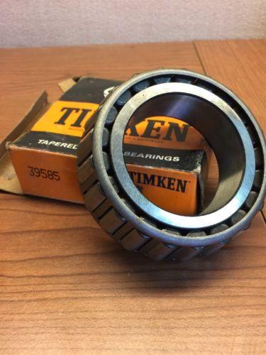Timken 39585 Tapered Roller Bearings