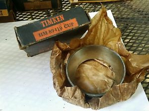 TIMKEN HM 89410 TAPERED ROLLER BEARING cup new old stock made in USA