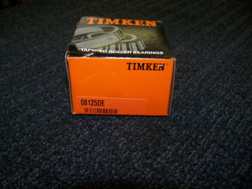 Timken Tapered Roller Bearing #08125DE