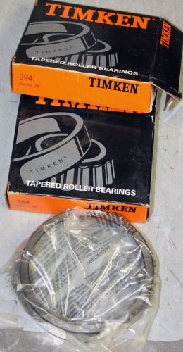 RACE ONLY Timken #394 Tapered / Cone Roller Bearing Race NOS