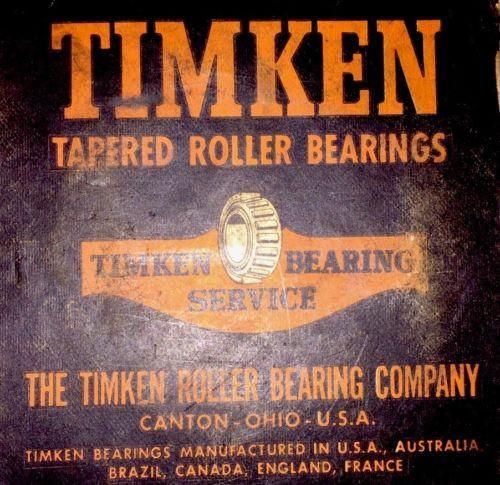 Timken 6376 Tapered Roller Bearing, Single Cone, Standard Tolerance, Straight