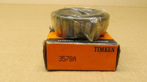 "1 NIB TIMKEN 3578A TAPERED ROLLER BEARINGS CONE 1-3/4"" ID X 1.216"" Width"