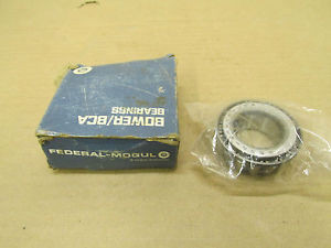 """1 NIB BOWER 15580 TAPERED ROLLER BEARING 1 1/16"""" 1.06"""" 27 MM ID BORE NEW"""