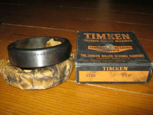 Vintage NOS Timken 3720 Tapered Roller Bearing Race Cup