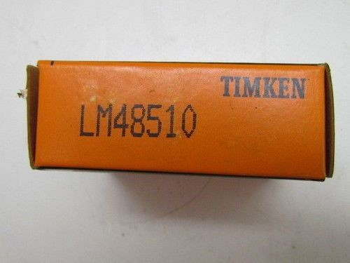 Timken Tapered Roller Bearing Cup Race LM48510 NIB