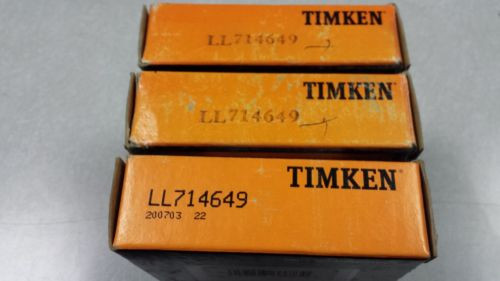 LL714649 Timken Tapered Roller Bearing New