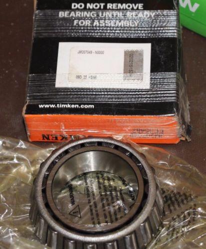 1x TIMKEN JM207049  Tapered Roller Bearing Module Cone