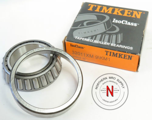 TIMKEN 32011XM 9/KM1 TAPERED ROLLER BEARING CUP & CONE SET 32011-XM