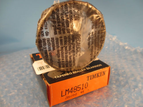 Timken  LM48510, Tapered Roller Bearing Cup