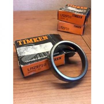 Timken LM29710 Tapered Roller Beatings Lot Of 3