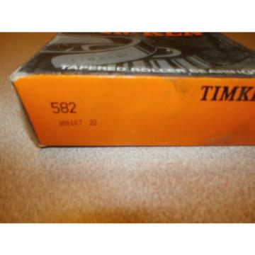 TIMKEN TAPERED ROLLER BEARING 582