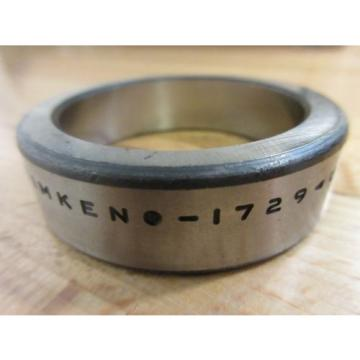 """Timken 1729 Tapered Roller Bearing, Single Cup, 2.240"""" OD x 5/8"""" Wide"""