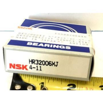 NIB NSK HR32006XJ SET TAPERED ROLLER BEARING CONE/CUP HR 32006 XJ 30mm ID 55mmOD