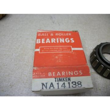 Timken NA14138 Tapered Roller Bearing
