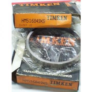 HM516849XS TIMKEN TAPERED ROLLER BEARING