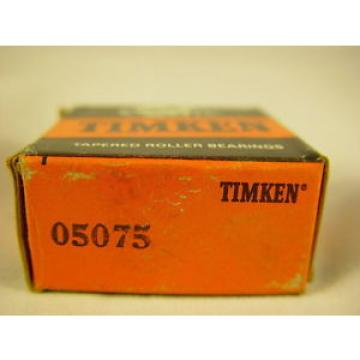 "Timken 05075 Tapered Roller Bearing, Single Cone 0.7500"" ID, 0.5660"" Width"