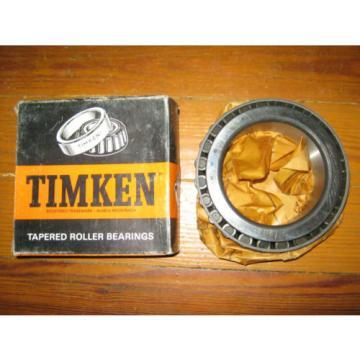 Timken 598 Tapered Roller Bearing In Vintage Box