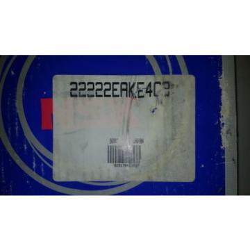 22222 EAKE4C3 22222 K TAPERED BORE SPHERICAL ROLLER BEARING NSK BRAND