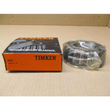 1 NIB TIMKEN 759 TAPERED ROLLER BEARING SINGLE CONE