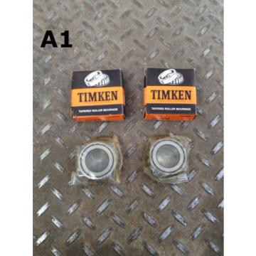 Timken 15578 Tapered Roller Bearing Cone -Lot of 2 NIB