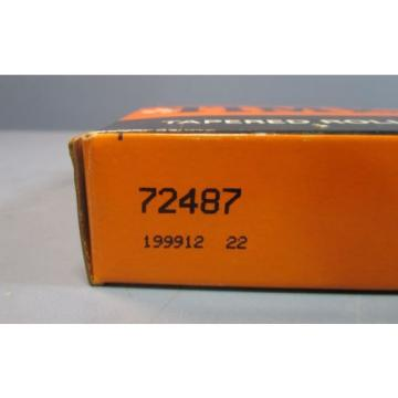 """Timken 72487 Tapered Roller Bearing Cup Only 3-1/2"""" ID, 1"""" Wide NIB"""